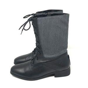 BB Dakota Lace Up Boots